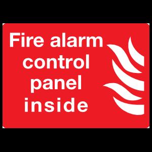 Fire Alarm Control Panel Inside Sign Magnet