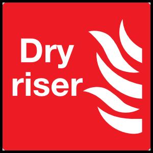 Dry Riser Sign Magnet