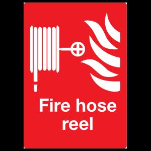 Fire Hose Reel Large Sign Magnet