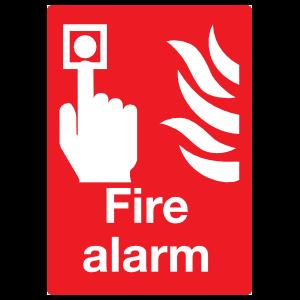 Fire Alarm Large Sign Magnet