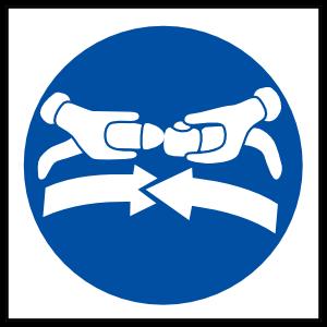 Fasten Seatbelts Sign Magnet
