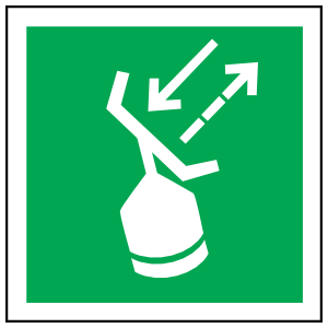 Radar Transponder Icon Sign Sticker