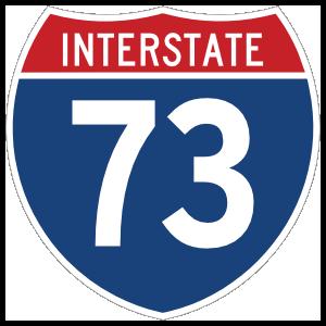 Interstate 73 Sign Magnet