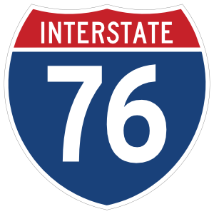 Interstate 76 Sign Magnet
