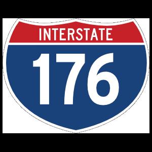 Interstate 176 Sign Magnet