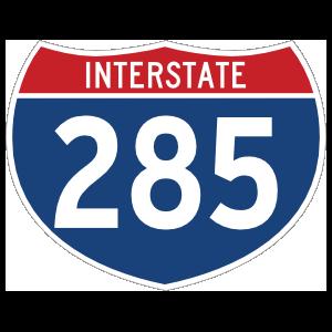 Interstate 285 Sign Magnet
