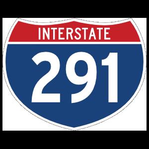 Interstate 291 Sign Magnet