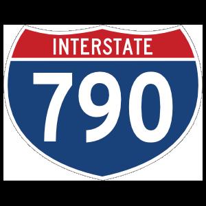 Interstate 790 Sign Magnet