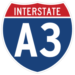 Interstate A3 Sign Magnet