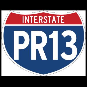Interstate Pr13 Sign Magnet