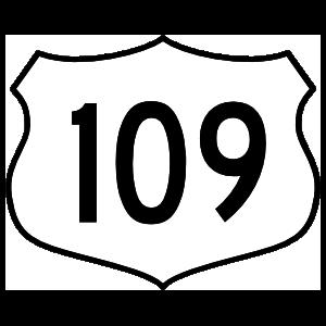 Highway 109 Sign Magnet