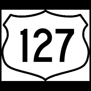 Highway 127 Sign Magnet
