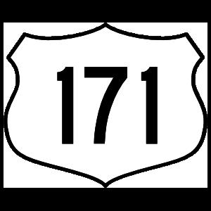 Highway 171 Sign Magnet