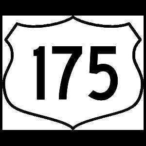 Highway 175 Sign Magnet