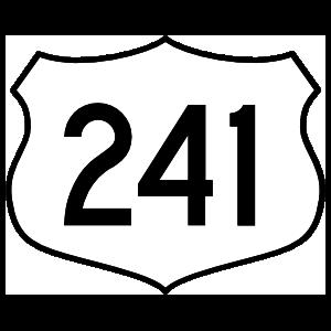 Highway 241 Sign Magnet