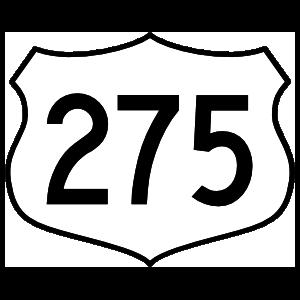 Highway 275 Sign Magnet