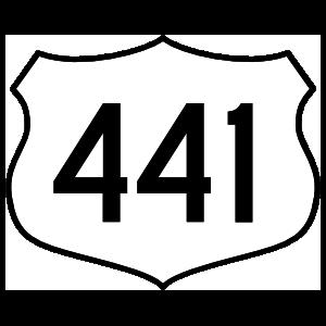 Highway 441 Sign Magnet
