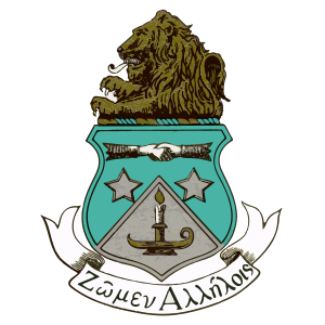 Alpha Delta Pi Crest  Sticker
