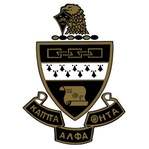 Kappa Alpha Theta Crest Die Cut Sticker