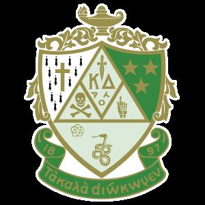 Kappa Delta Crest Die Cut Sticker