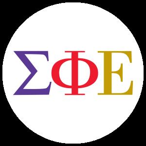 Sigma Phi Epsilon Greek Letters Die Cut Sticker Sigma Phi Epsilon