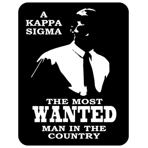 Kappa sigma most wanted man