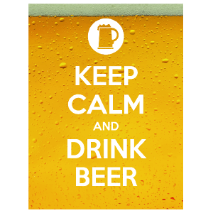 Keep Calm and Drink Beer Magnet