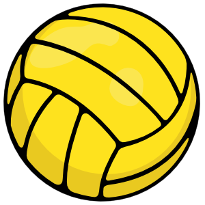 Water Polo Ball Printed Full Color Magnet