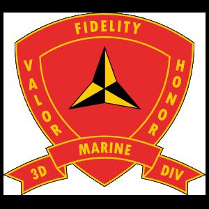 Marine Corps 3Rd Marine Division Sticker
