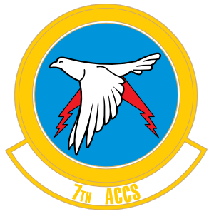 Air Force 7Th Airborne Command And Control Squadron Sticker