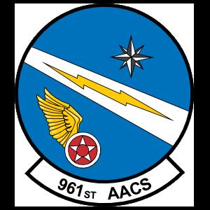 Air Force 961St Airborne Air Control Squadron Sticker