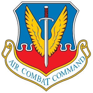 Air Force Air Combat Command Sticker