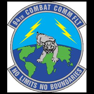 Air Force 94Th Combat Communications Flight Sticker