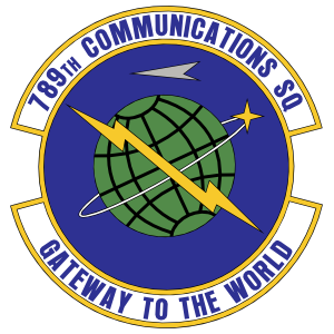 Air Force 789Th Communications Squadron Sticker
