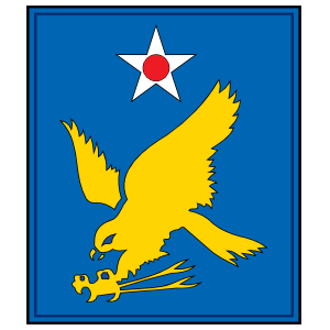 Air Force 2Nd Air Force Plaque Sticker