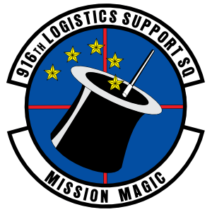 Air Force 916Th Logistics Support Squadron Magnet