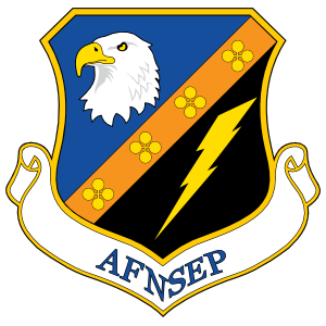Air Force National Security Emergency Preperation Sticker