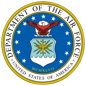 Air Force Department Of The Air Force Sticker