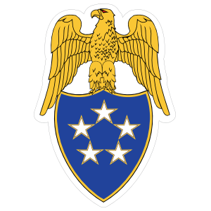 Army Aide General Fo The Army Emblem Sticker