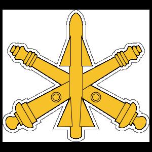 Army Air Defense Artillery Emblem Sticker