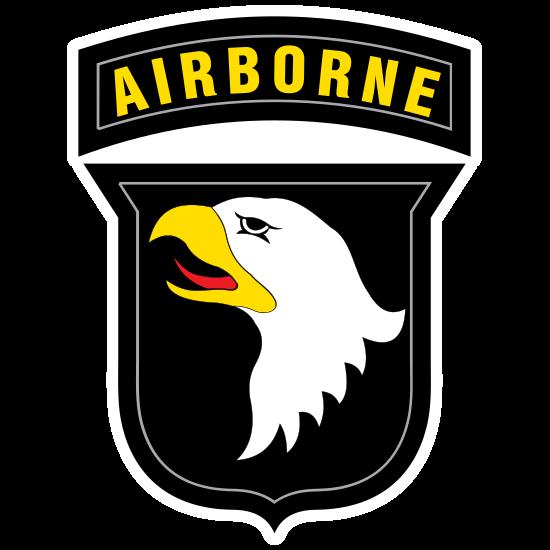 Army 101St Airborne Division Sticker