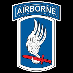 Army 173Rd Airborne Brigade Combat Team Sticker