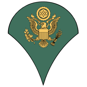Army Rank E-4 Specialist Sticker