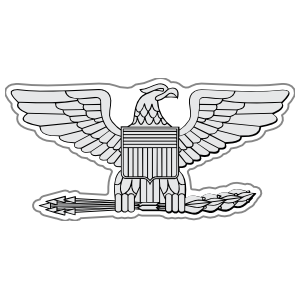 Army Rank O-6 Colonel Sticker