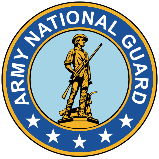 Army National Guard Seal Sticker