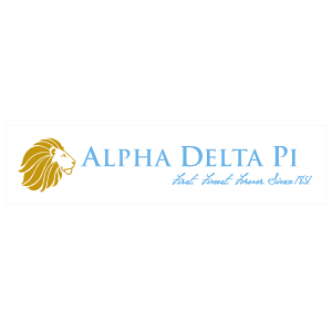 Alpha Delta Pi Rectangle Bumper Sticker