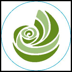 Kappa Delta Shell Clear Circle Sticker