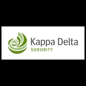 Kappa Delta Sorority White Rectangle Sticker