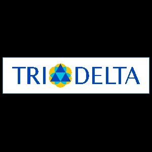 Delta Delta Delta Logo Rectangle Sticker