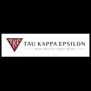Tau Kappa Epsilon White Rectangle Bumper Sticker